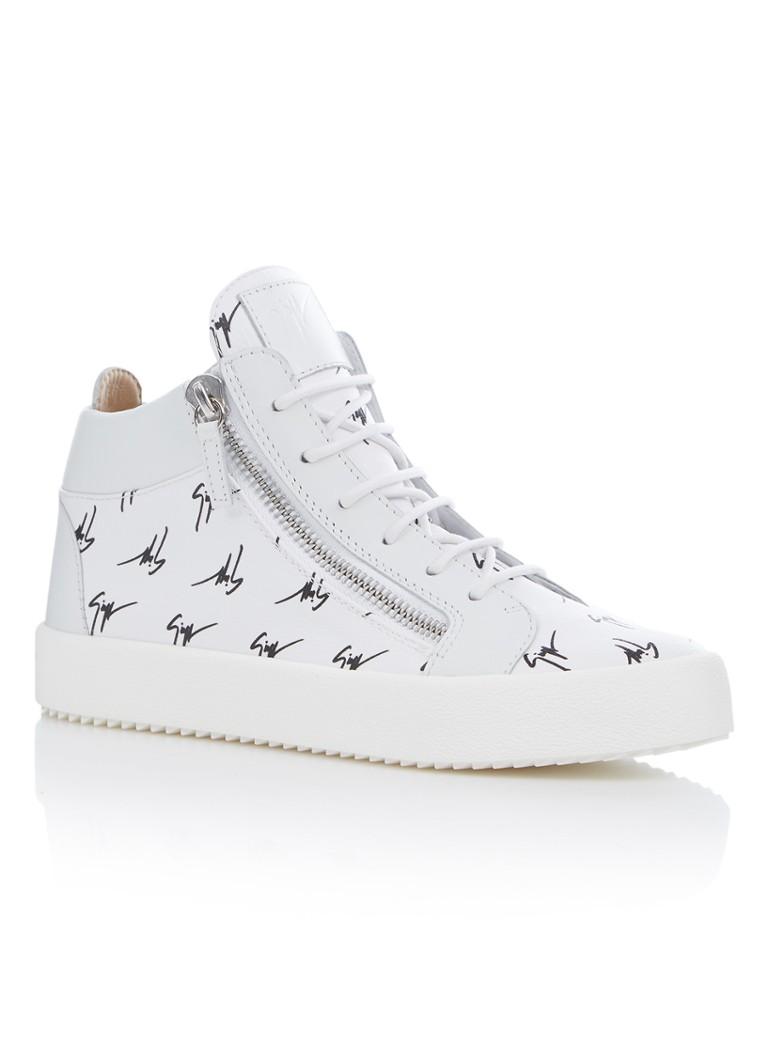Giuseppe Zanotti The Signature sneaker van kalfsleer