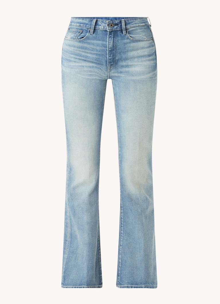 3301 high waist flared fit jeans