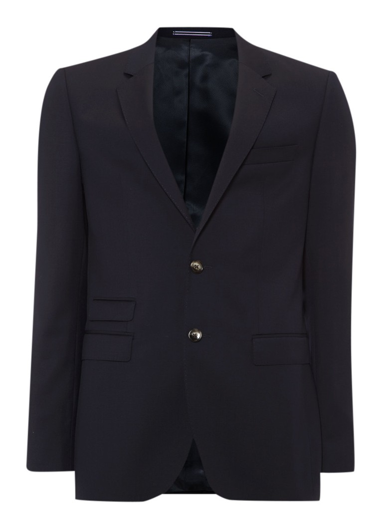 Tommy Hilfiger Tailored Slim fit colbert Rebel in donkerblauw