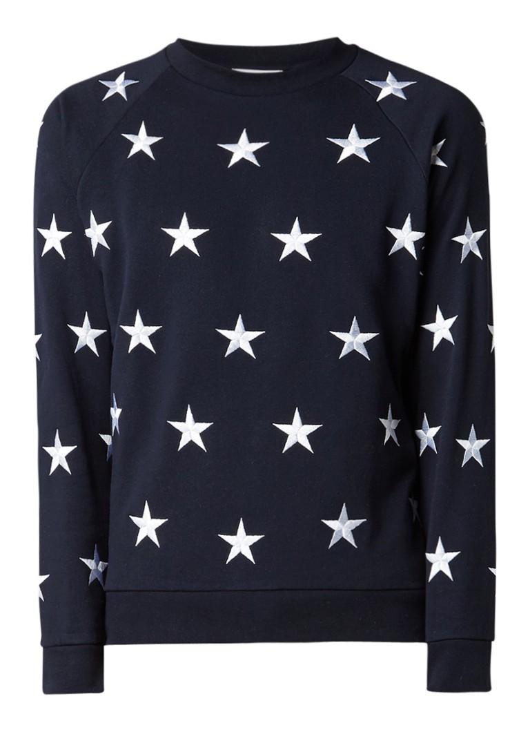 Sandro Sweater met sterren borduring