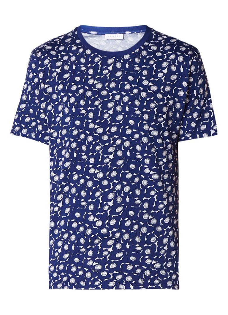 Sandro T-shirt met bloemenprint