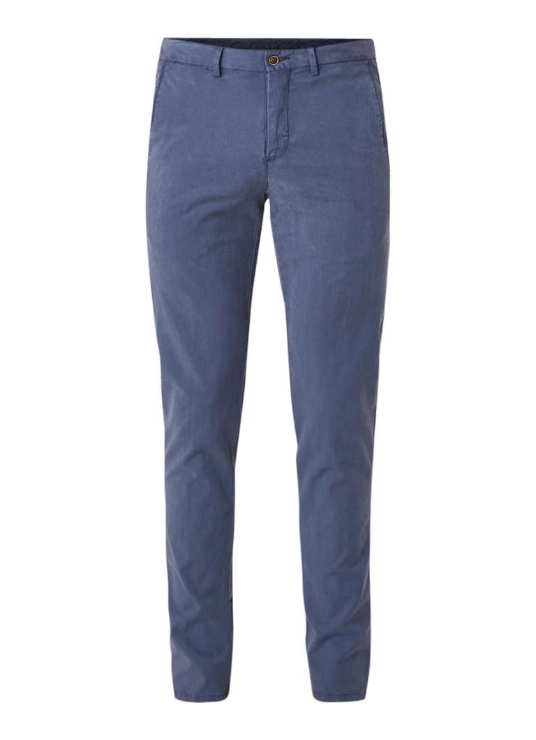 Image of Profuomo Skinny fit pantalon van stretchkatoen