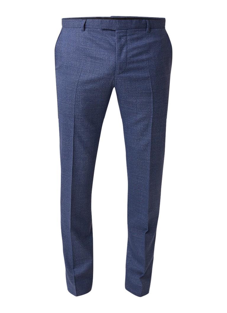 Strellson Manver slim fit pantalon van gemêleerd scheerwol kopen