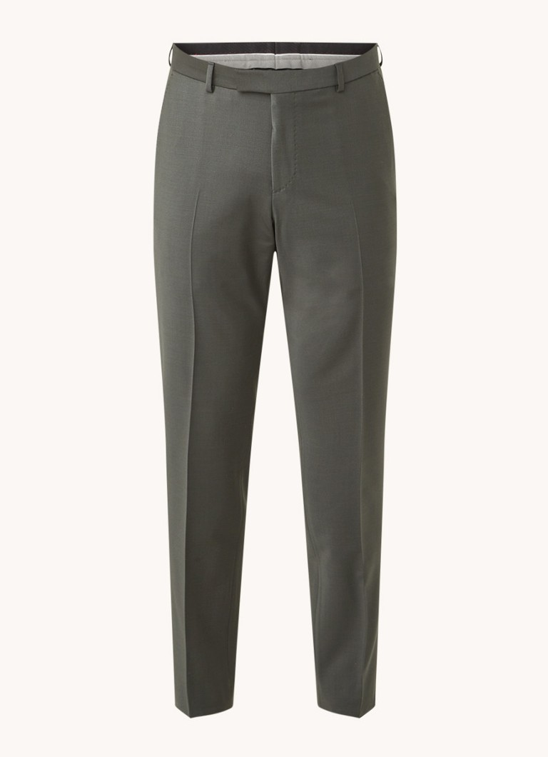 Strellson Mercer tapered fit pantalon in wolblend