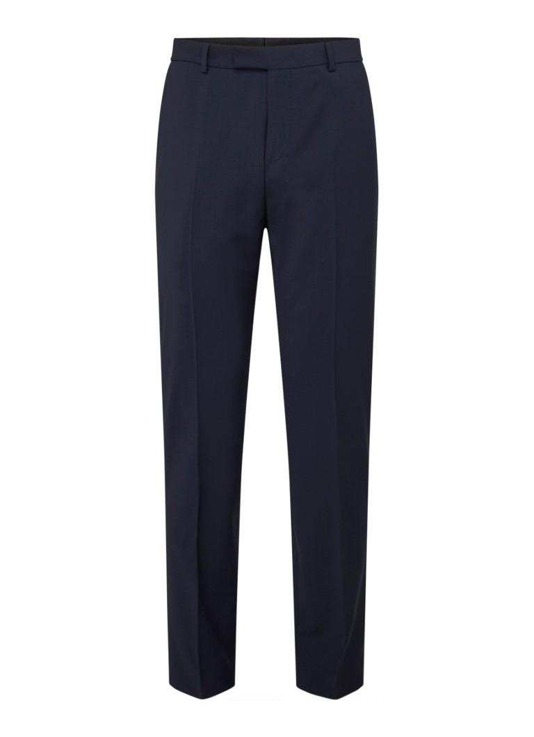 Flex Cross Mercer slim fit pantalon in wolblend