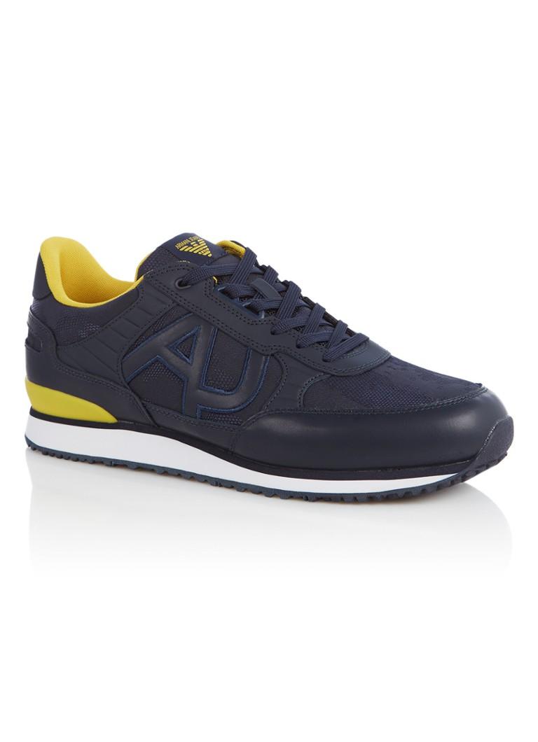 - Armani Sneaker van leer