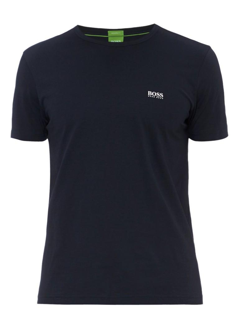 HUGO BOSS Tee T-shirt in donkerblauw