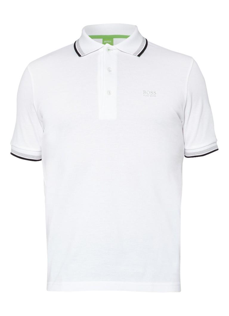 BOSS Green PADDY Poloshirt weiß