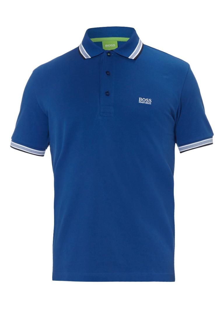 BOSS Green PADDY Poloshirt medium blue