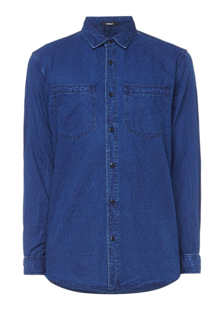 Denham Regular fit overhemd van denim