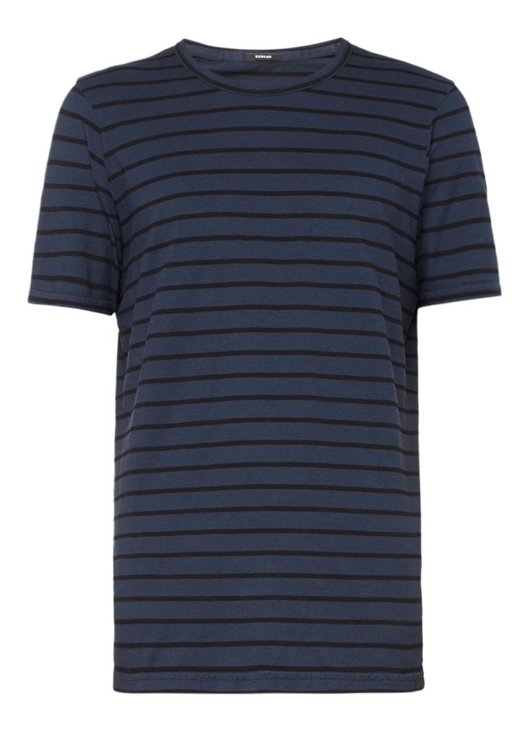 Denham T-shirt van katoen met streepdessin