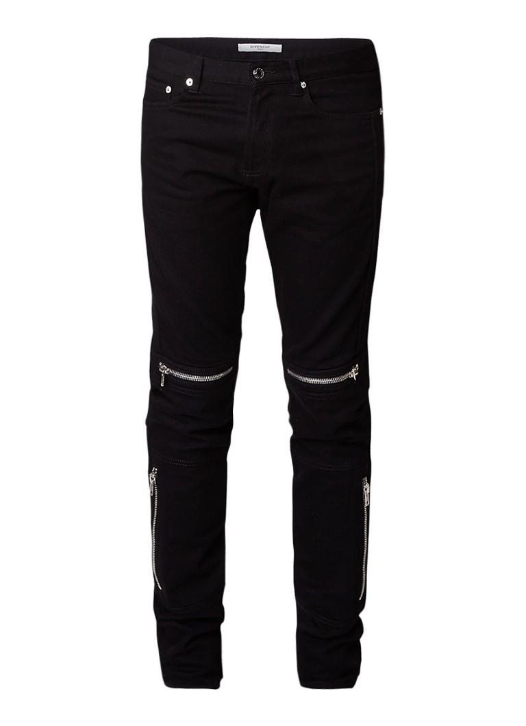 Givenchy Biker slim fit jeans met ritsdetails