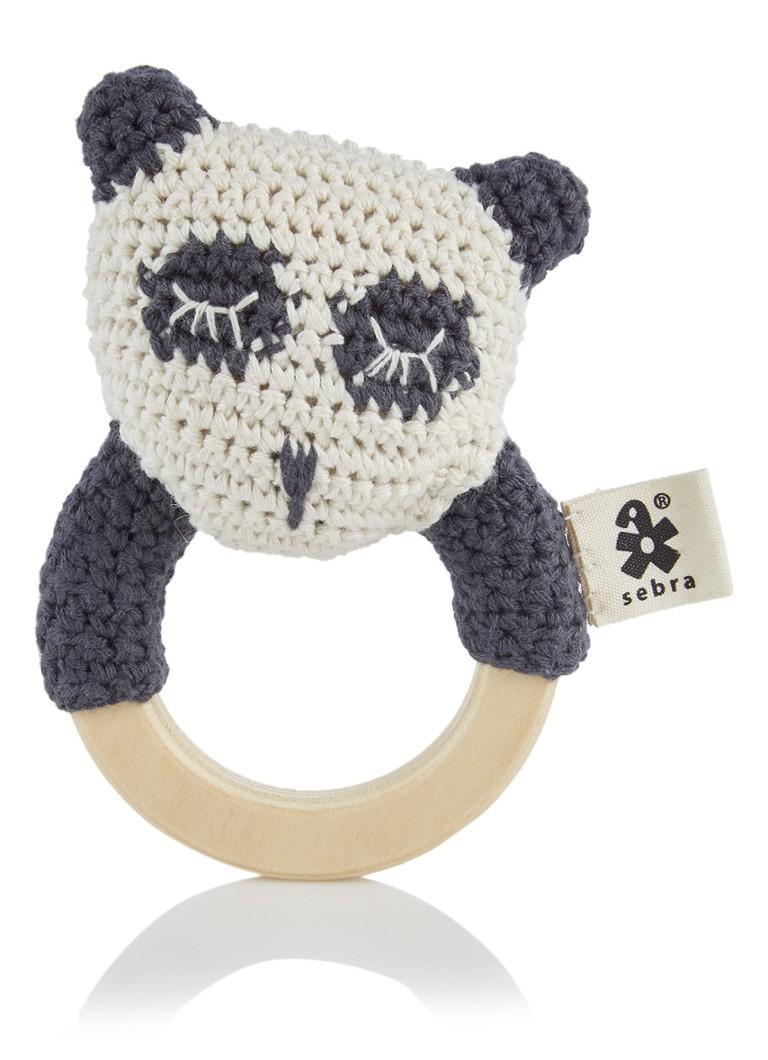 Sebra Panda rammelaar 12 x 8 cm