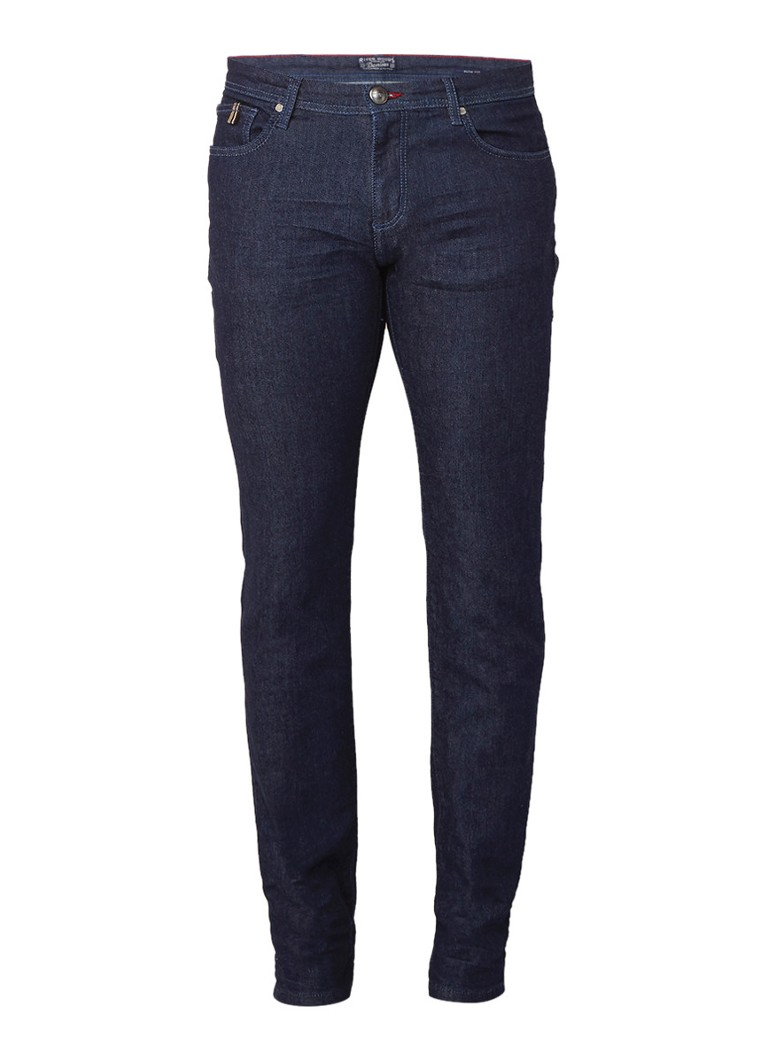 River Woods Tailored slim fit jeans met stretch
