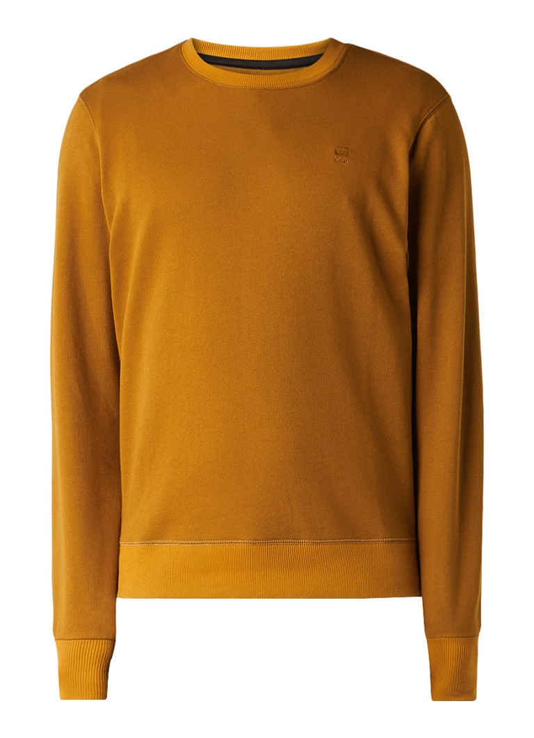 G-Star RAW Core sweater met ribgebreide boorden