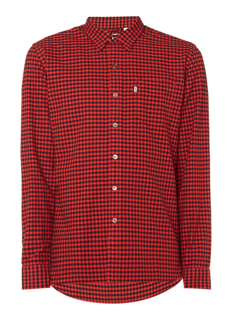 Levi's Overhemd met ruitdessin en borstzak