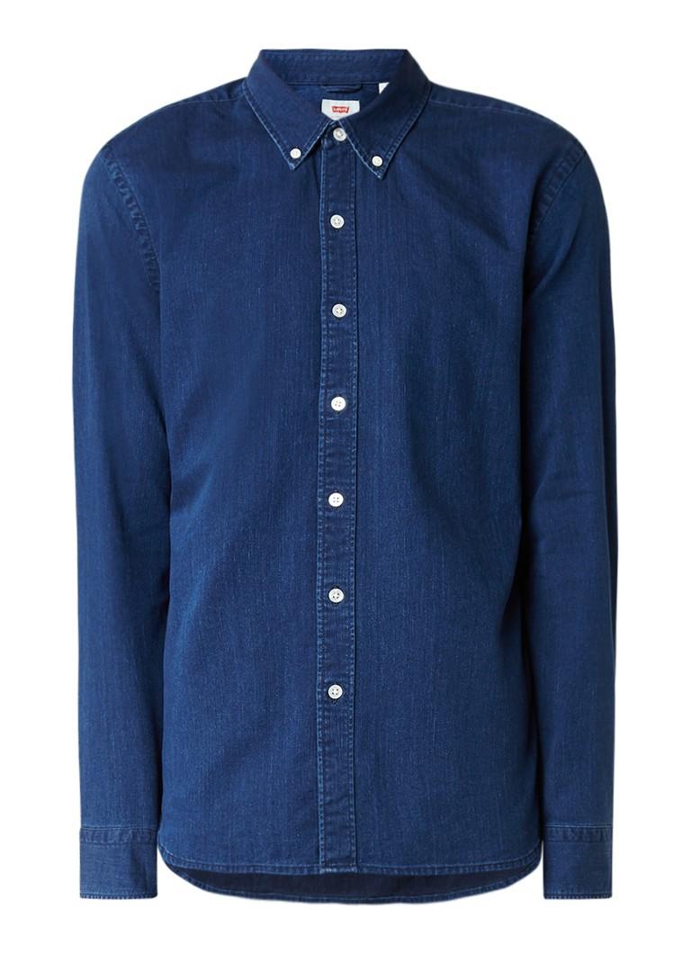Levi's Button down overhemd van denim