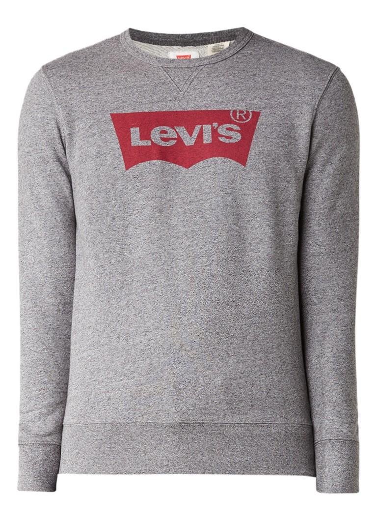Levi's Sweater van katoen met logo