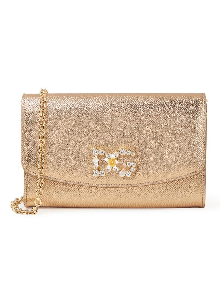 Dolce & Gabbana Wallet crossbodytas van kalfsleer