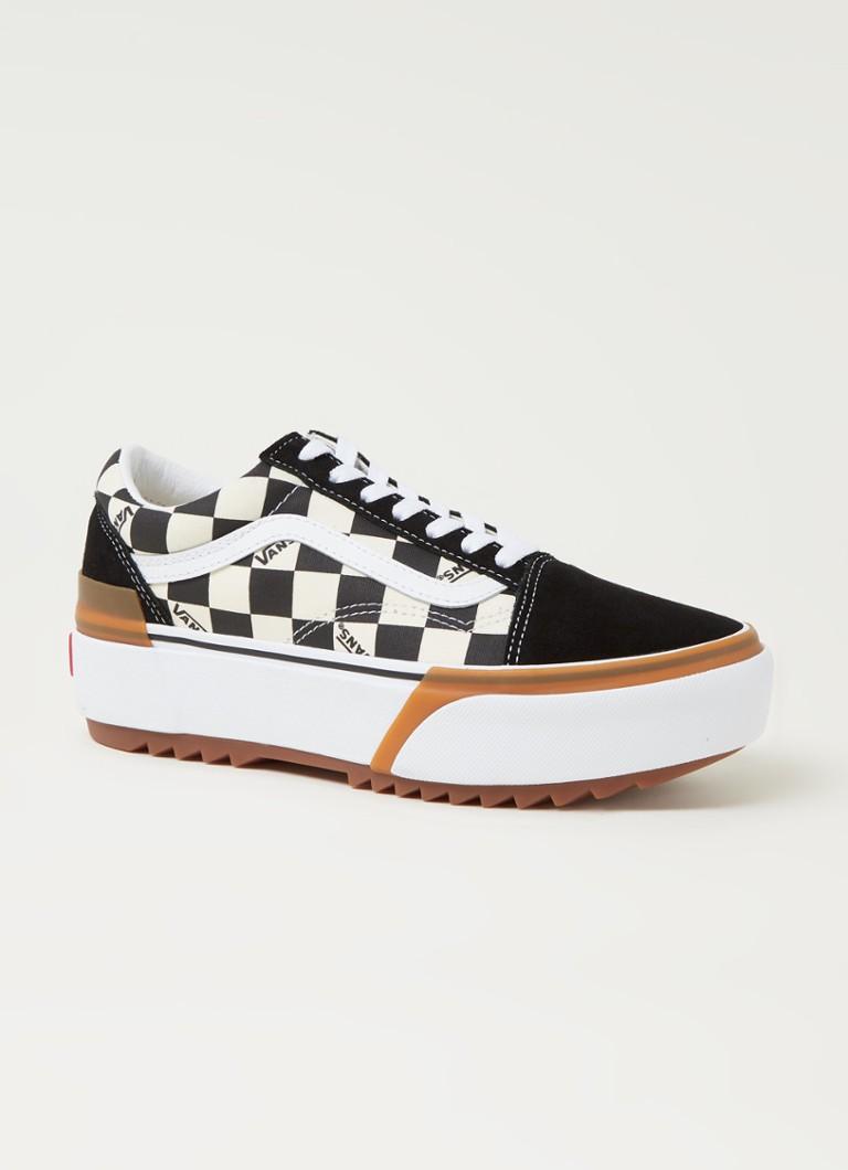Old skool platform sneaker