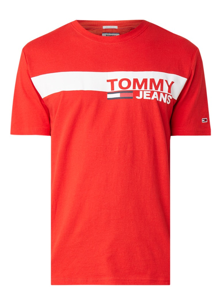 Tommy Hilfiger Essential Box T-shirt met logoprint