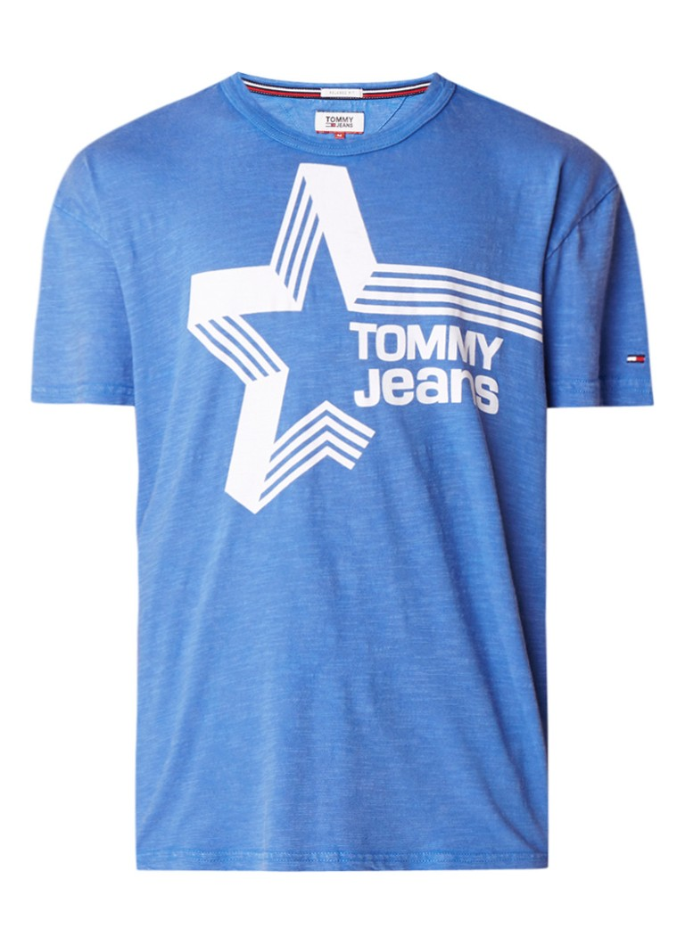 Tommy Hilfiger Retro relaxed fit T-shirt met logoprint