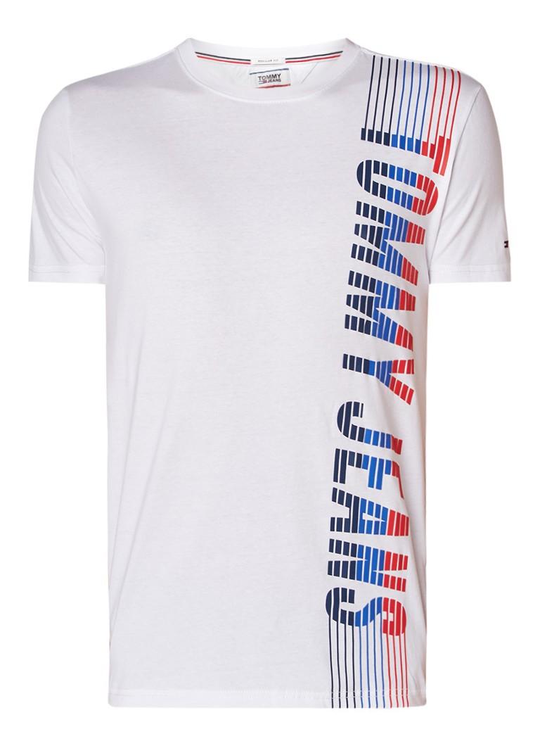 Tommy Hilfiger Regular fit T-shirt met logo