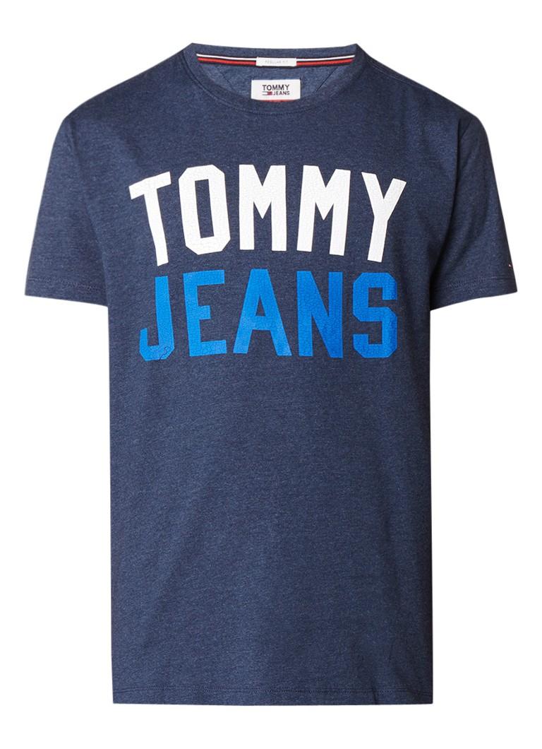 Tommy Hilfiger College regular fit T-shirt met logoprint