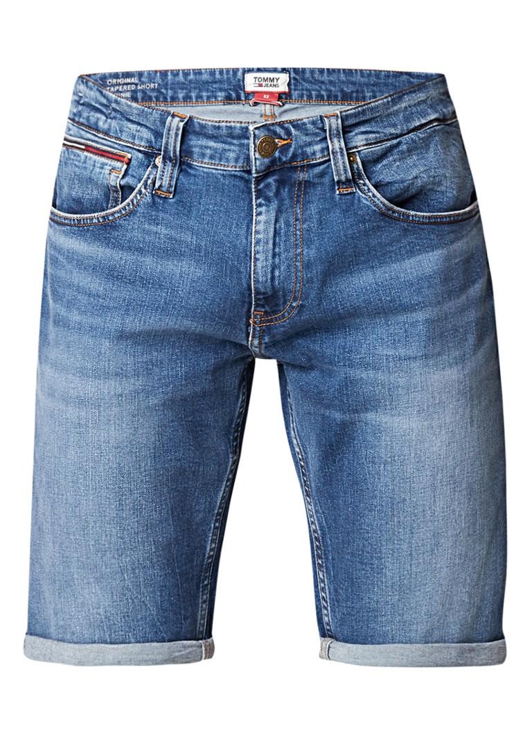Tommy Hilfiger Ronnie tapered denim shorts met stretch