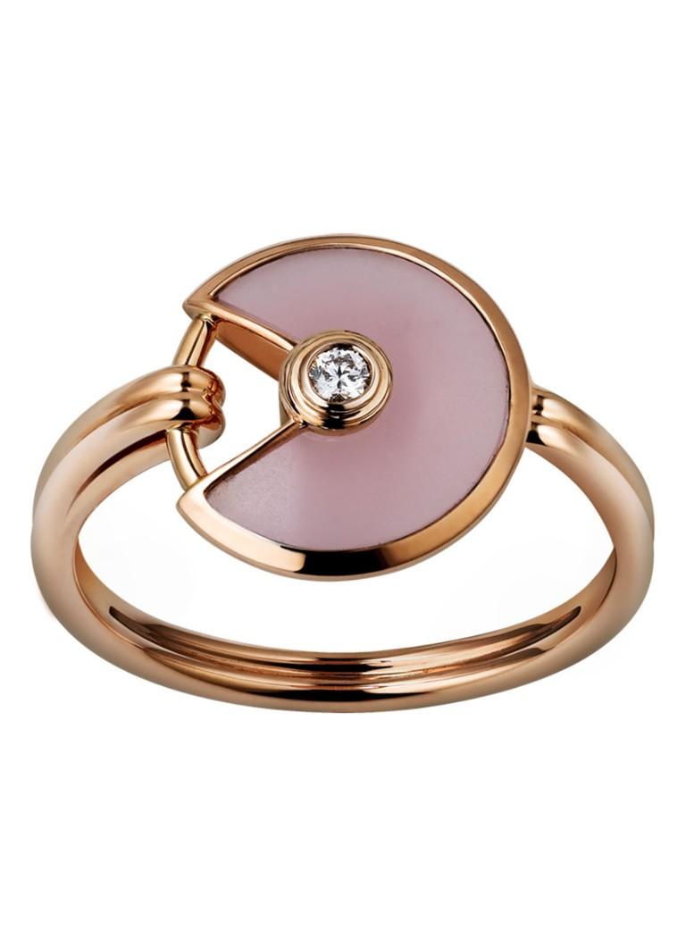 Cartier Amulette de Cartier XS ring van 18k rosegoud met diamant B4213400