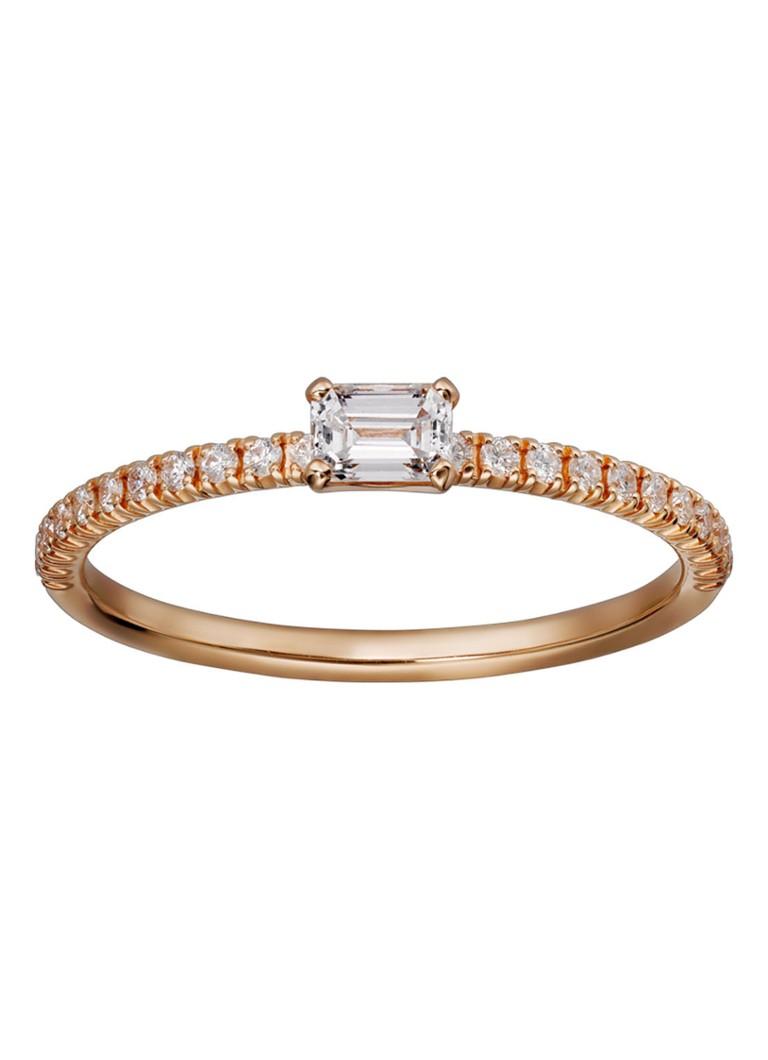 Cartier Etincelle de Cartier ring van rosegoud met diamanten B4216700