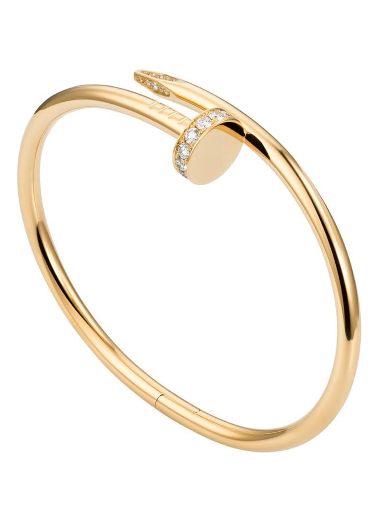 Cartier Juste un Clou armband van 18k geelgoud met diamanten B6048600