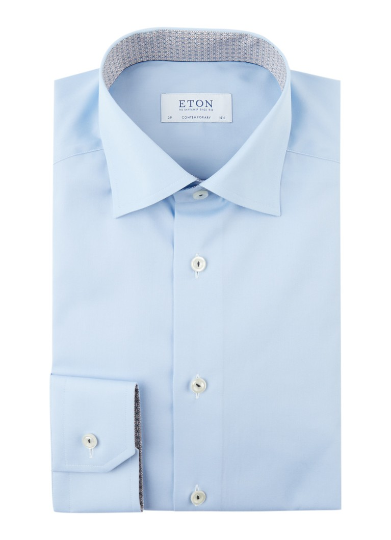 Image of Eton Regular fit overhemd van katoen