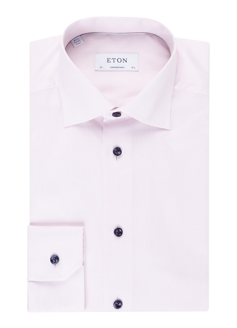 Image of Eton Regular fit overhemd met cut away-kraag