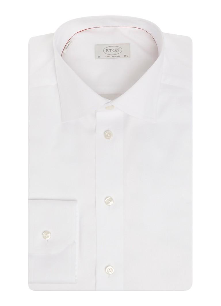 Eton Overhemd met wide spread kraag