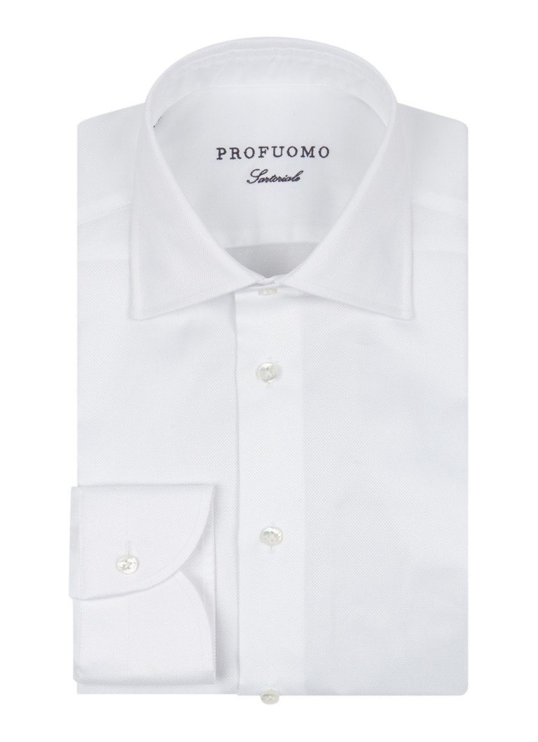 Profuomo Royal luxe slim fit Oxford overhemd