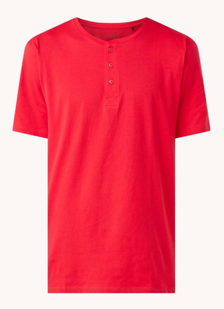 Schiesser Pyjama T-shirt van jersey