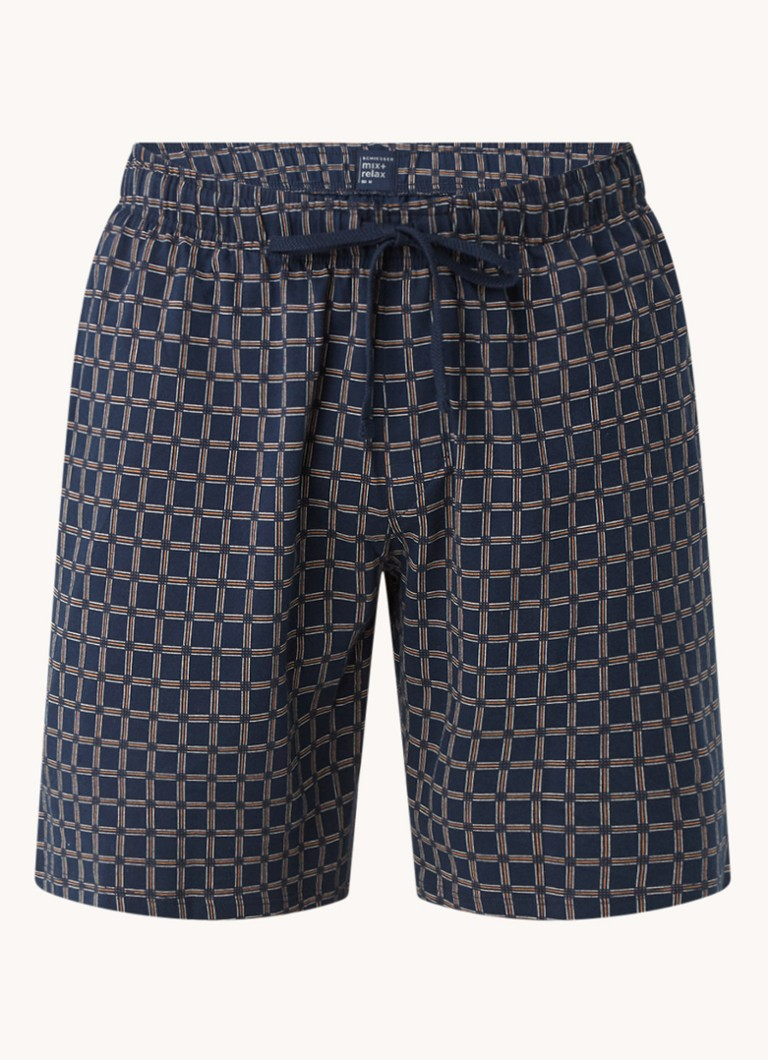 Schiesser Pyjamabroek van jersey met print