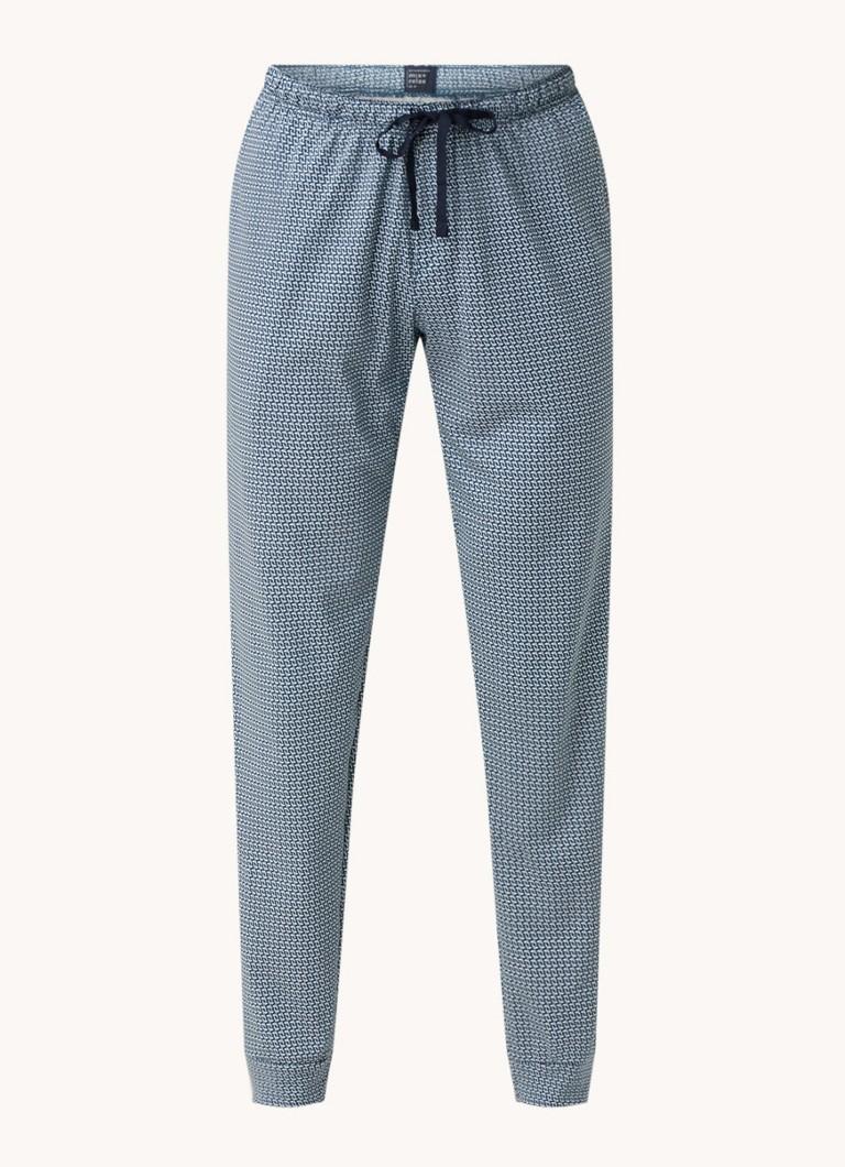 Schiesser Pyjamabroek met print