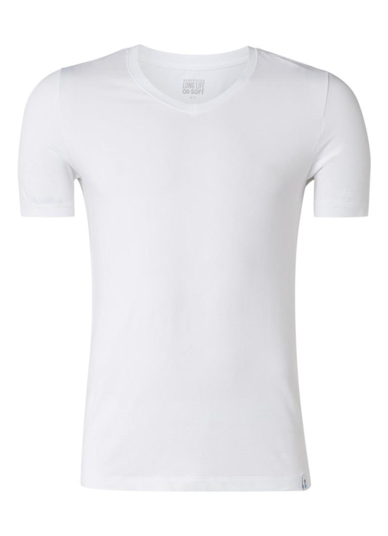Schiesser Long Life Soft T-shirt met V-hals