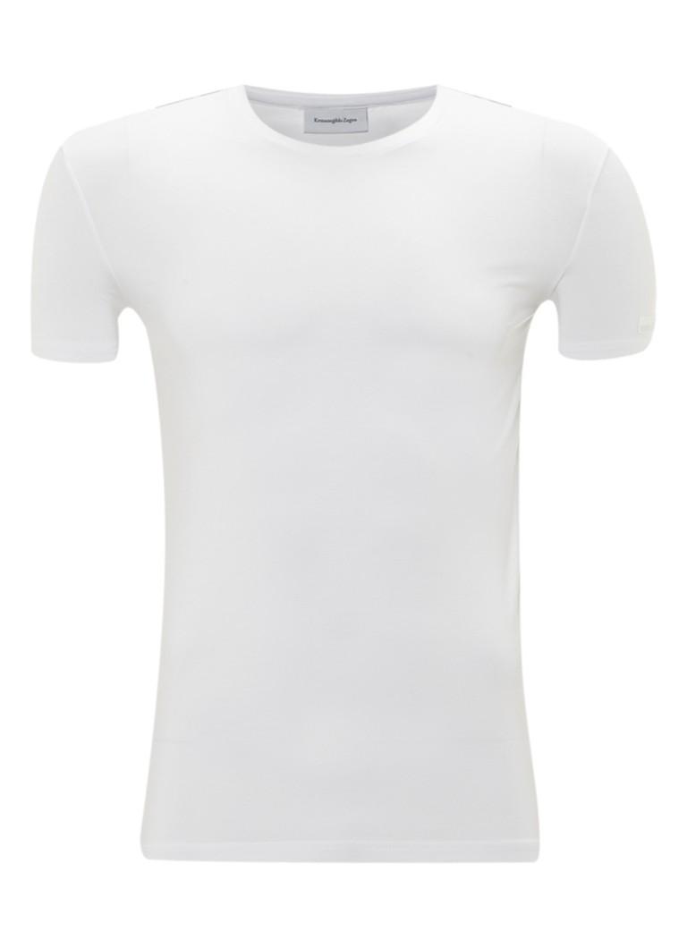 Ermenegildo Zegna Wit T-shirt met ronde hals