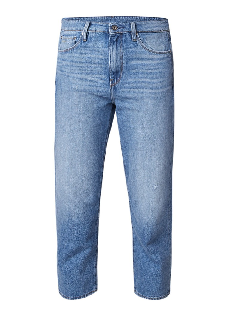 G-Star RAW 3301 high rise cropped boyfriend jeans