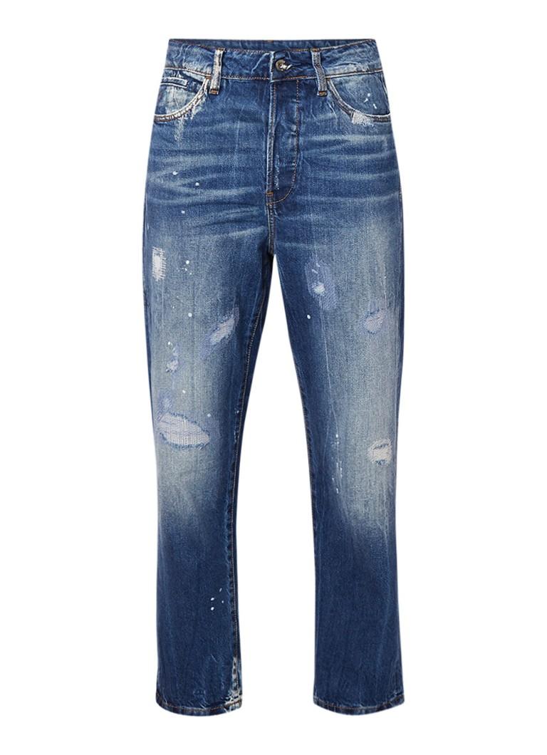 G-Star RAW Midge high rise boyfriend jeans met destroyed look