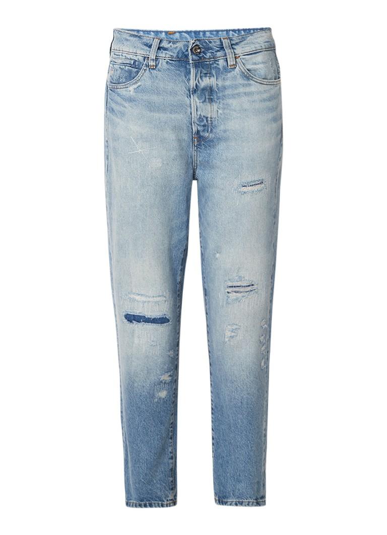 G-Star RAW Midge high rise boyfriend jeans met destroyed detail
