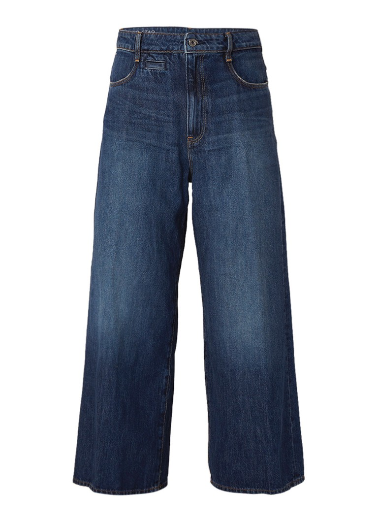 G-Star RAW D-Staq high rise wide fit 7 8 jeans