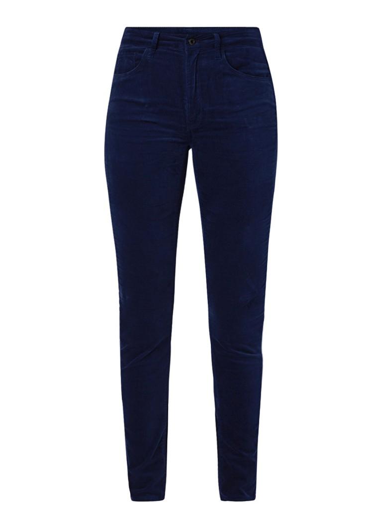 G-Star RAW 3301 high rise skinny fit jeans van fluweel