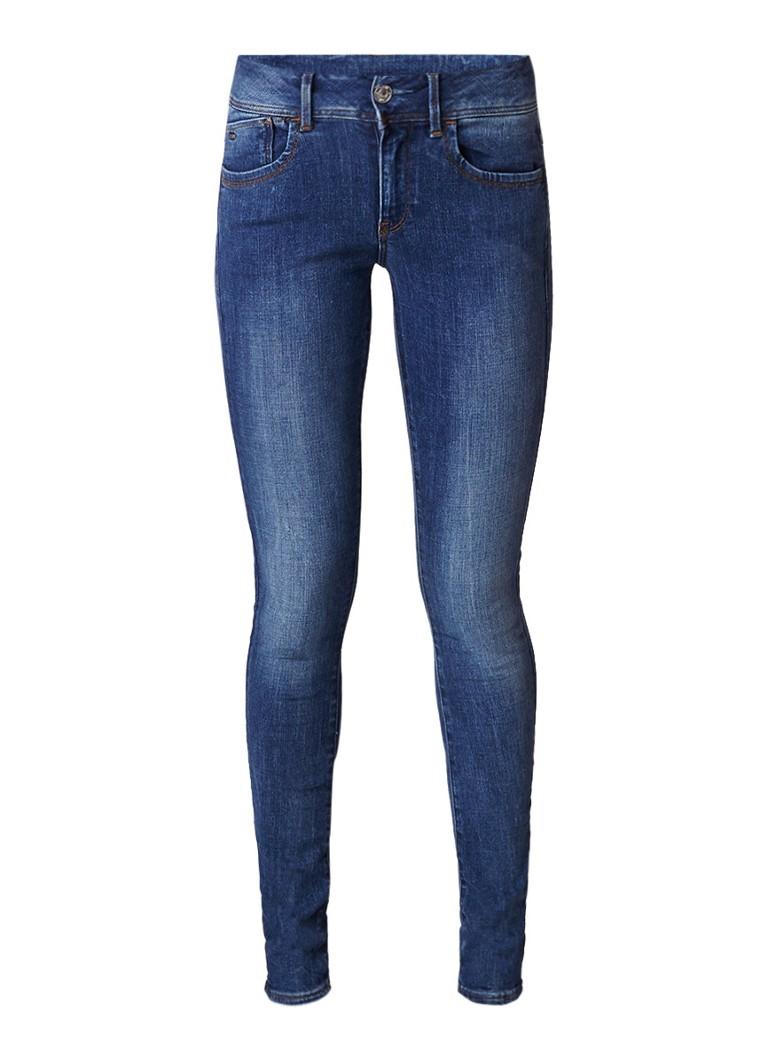 G-Star RAW Lynn Trender mid rise skinny jeans met stretch