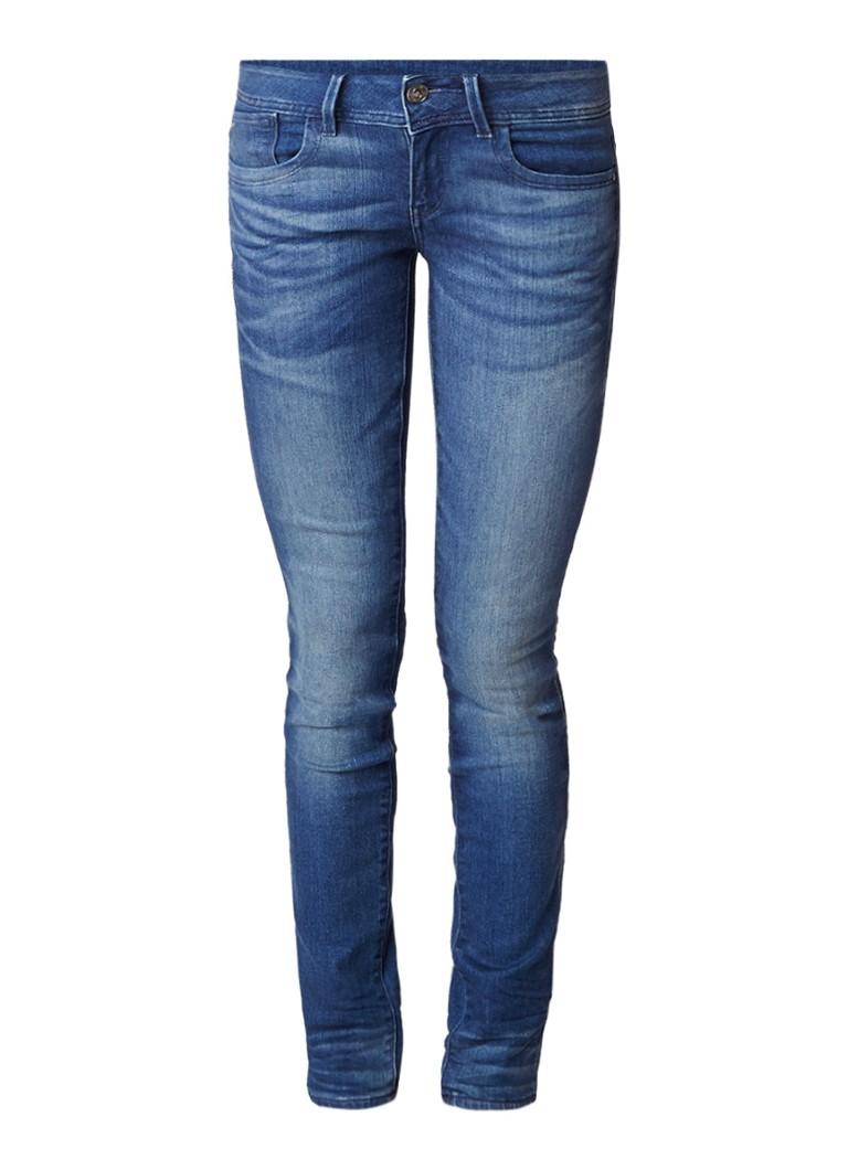 G-Star RAW Lynn mid rise skinny jeans met faded look