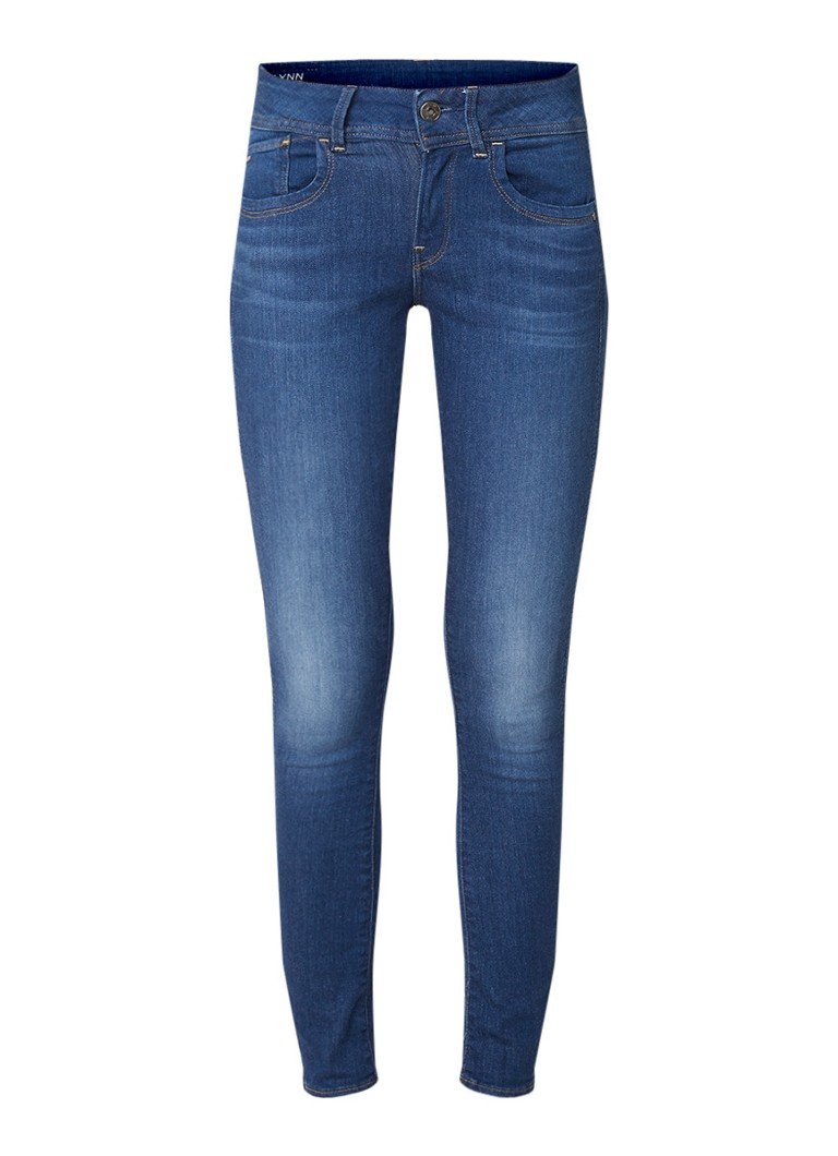 Image of G-Star RAW Lynn mid rise skinny fit jeans met stretch