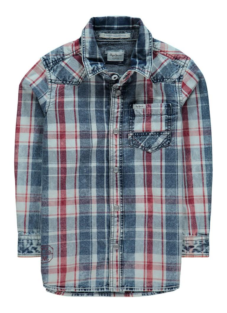 Pepe Jeans Travis overhemd met ruitdessin